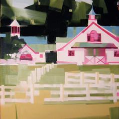 """Calumet Farms #3 – oil on canvas – 20"""" x 24"""""""