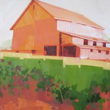 "Farm of Ohio – oil on canvas – 20"" x 24"""