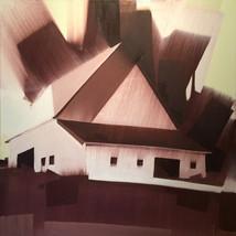 "Country Farm – oil on canvas – 40"" x 40"" – $3,950"