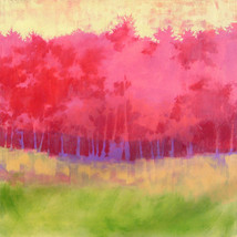 Tall Pines – oil on canvas