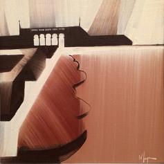 """Ault Park – oil on canvas – 12"""" x 12"""""""