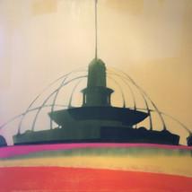 """Buckingham Fountain – oil on canvas – 46"""" x 46"""" – $4,400"""