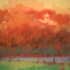 "1008 Park Avenue – oil on canvas – 34"" x34"""