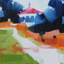 "Eden Park #3 – oil on canvas – 11"" x 14"""