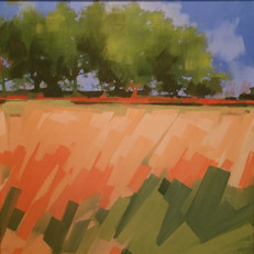 "Georgia Pines – oil on canvas – 34"" x 34"" – $3,350"