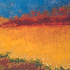 A Napa Valley Fall – oil on canvas