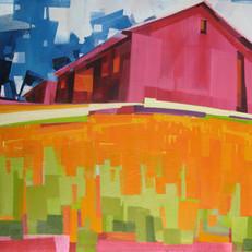 """Monnig Radket Farm #4 – oil on canvas – 30"""" x 40"""" – $3,450"""
