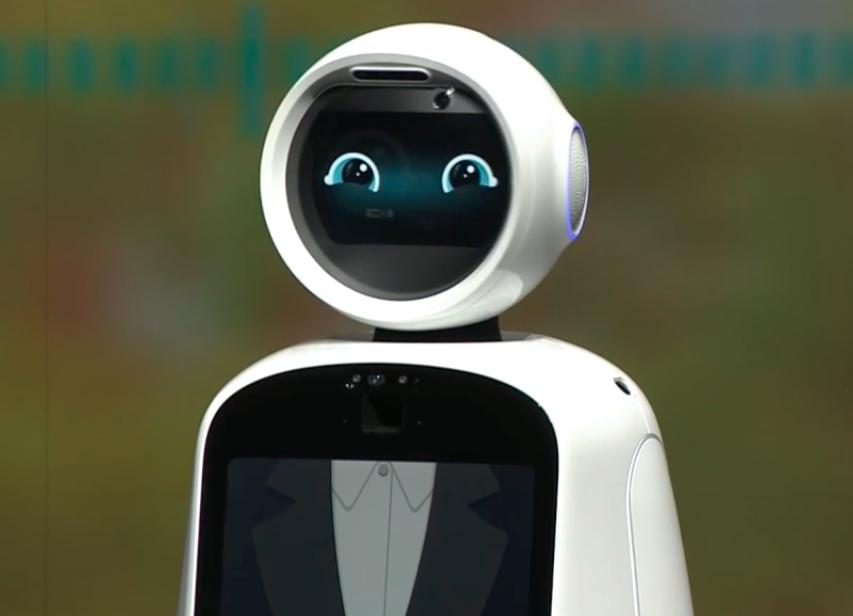 CLOi, o primeiro robô assistente da empresa LG.