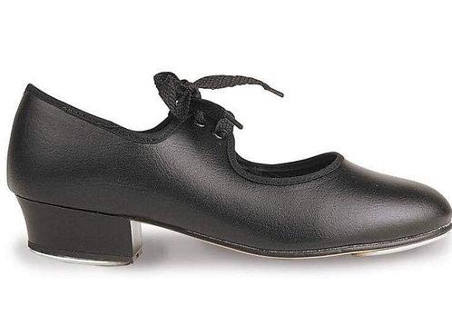 Black tap shoe, sizes 2-5