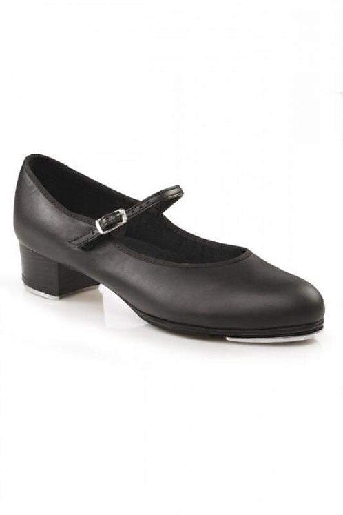Capezio  buckle bar tap shoe.