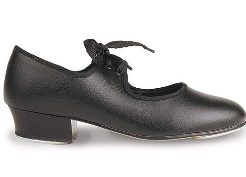 Black tap shoe, adult sizes 2-8