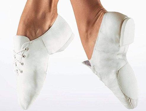 White Jazz shoes  sizes child 10 to 2