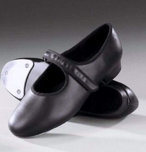 Velcro child's tap shoe