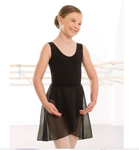 Black Inters / Seniors ballet skirt (larger sizes can be custom made)