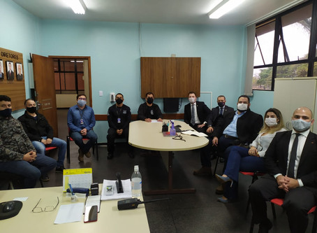 Representantes da OAB Maringá levam reivindicações dos advogados ao Depen