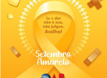 Setembro Amarelo: romper o silêncio é a finalidade da campanha da OAB Maringá