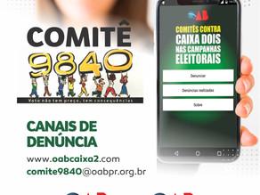 Trabalho do Comitê 9840 da OAB Maringá tem repercussão estadual