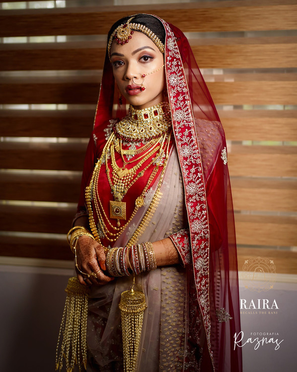 Bride Aysha for Wedding