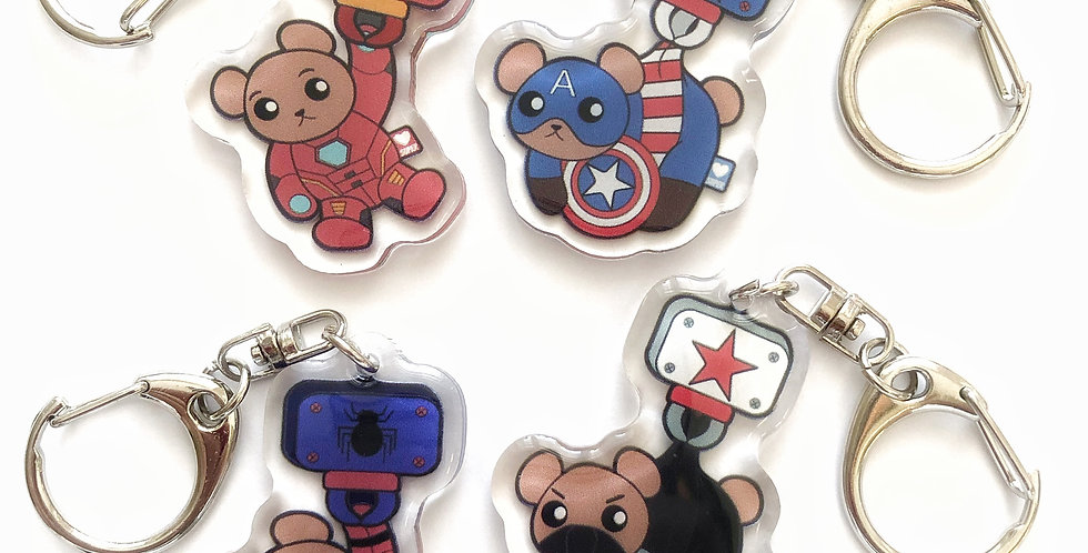 Limited Marvel Bears - Set 1