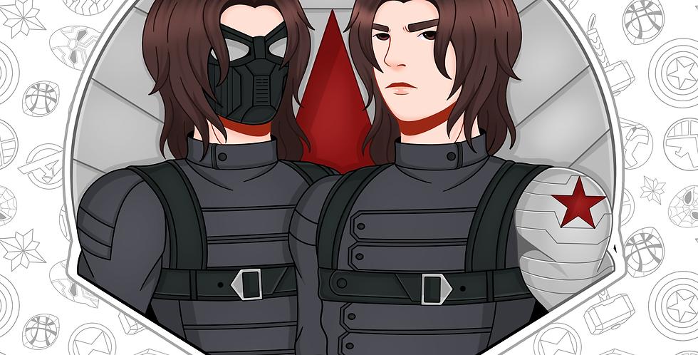 Bucky Sticker (OCT)