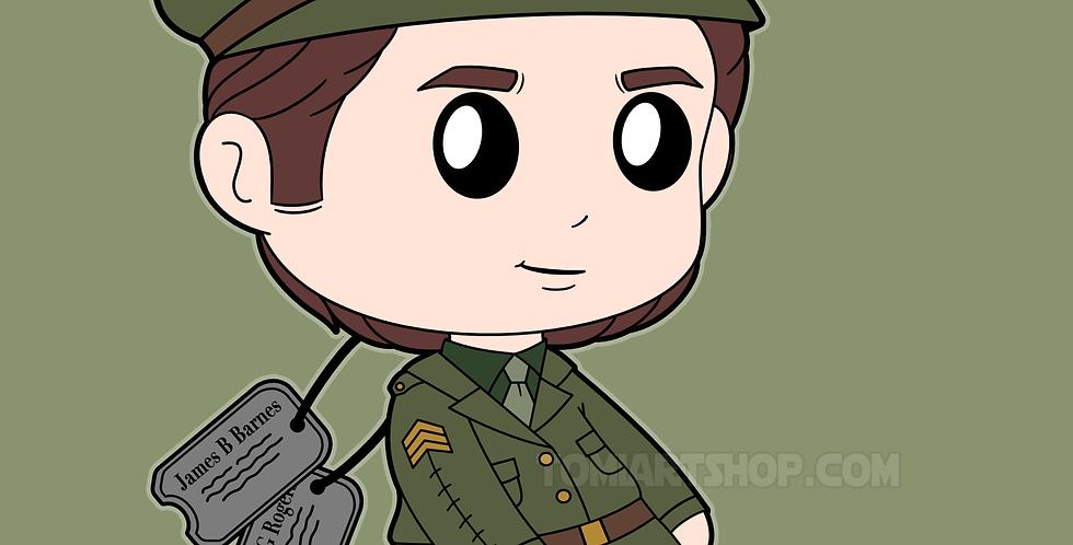 Sergeant BuckyPlushie Preorder