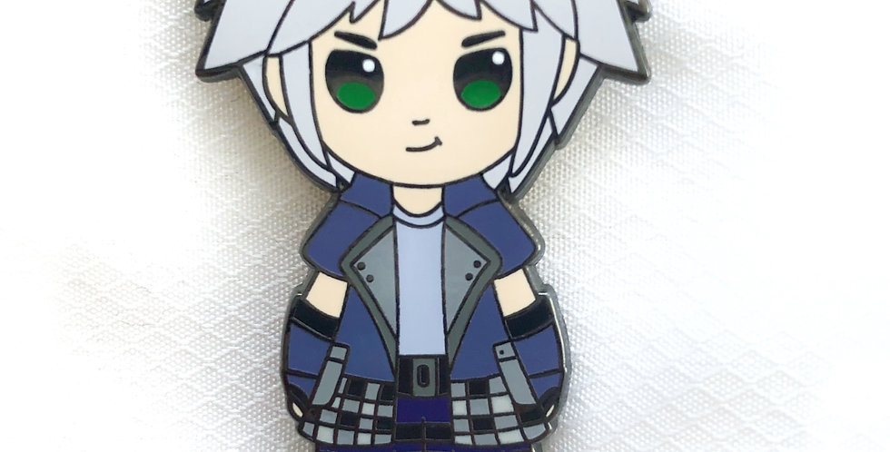 Riku Hard Enamel Pin