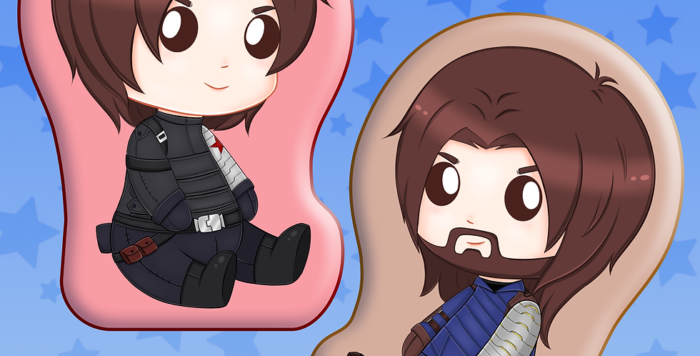 Bucky Plush Pillow Preorder
