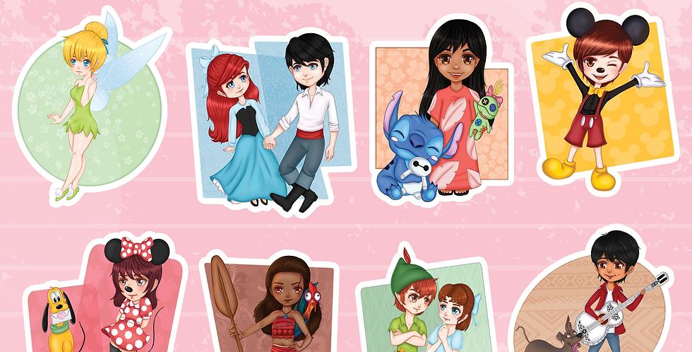 Disney Sticker Set