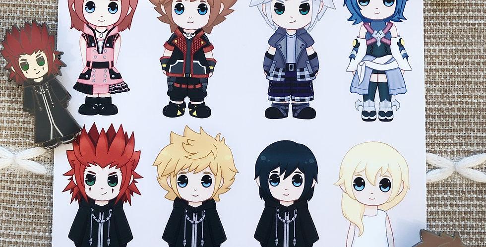 Kingdom Hearts Print