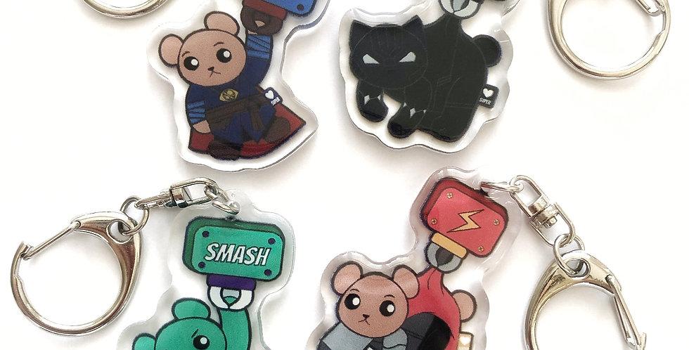 Limited Marvel Bears - Set 2