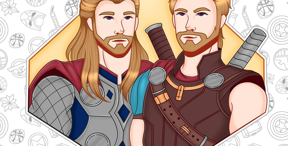 Thor Sticker (DEC)