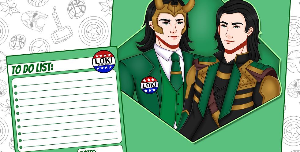 Loki Art Print (FEB)