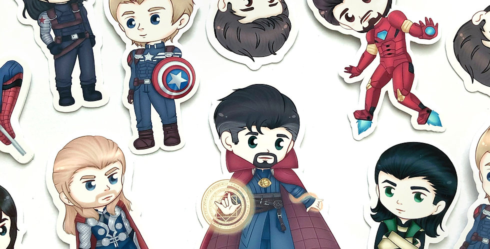 Marvel Sticker Set