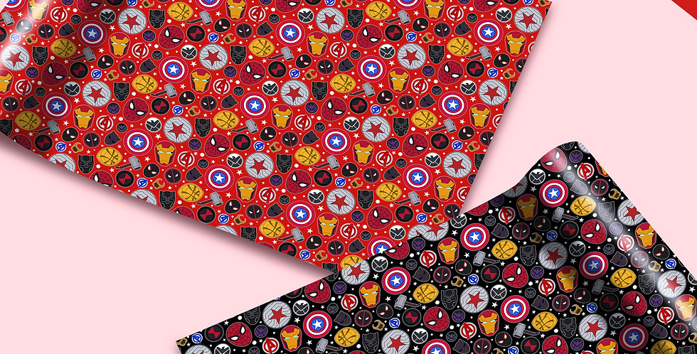 Marvel Gift Wrap - Preorders