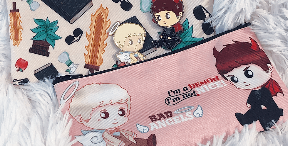 Good Omens Pouch