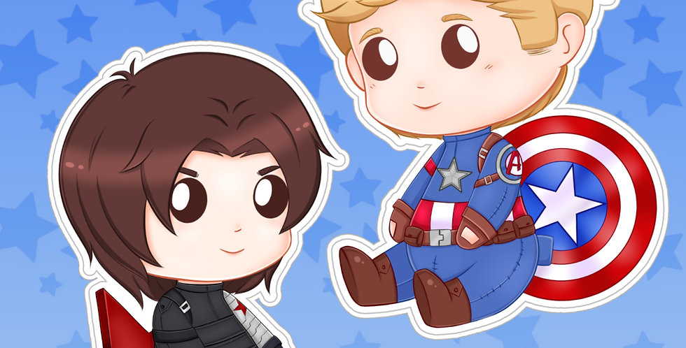 Stucky Sticker Set V1 Preorder