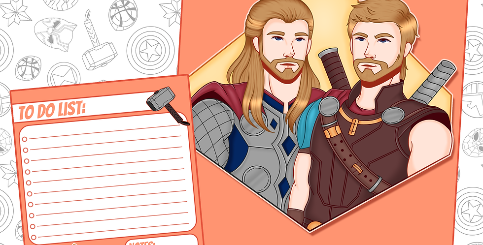 Thor Art Print (DEC)