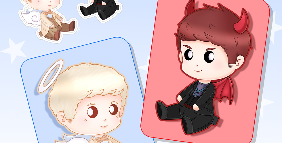 Good Omens - Prints and Stickers