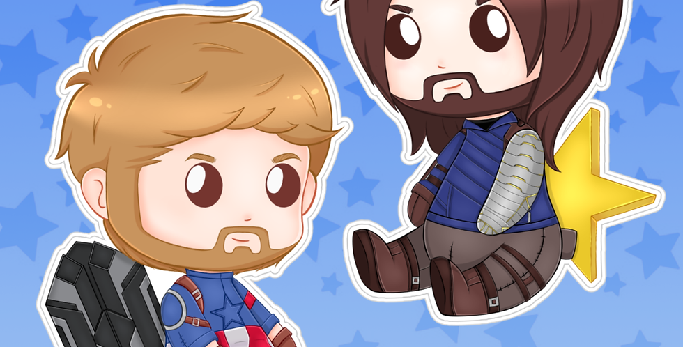 Stucky Sticker Set V2 Preorder