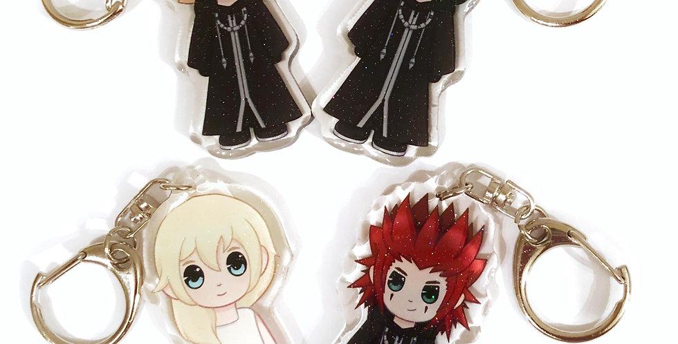 Kingdom Hearts Keychains - Set 2