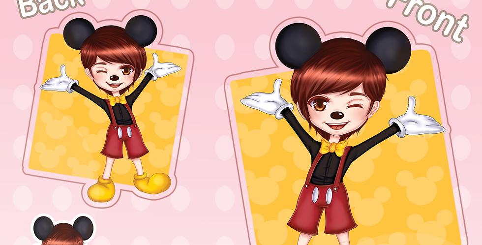 Mickey Mouse Acrylic Charm