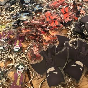 So many Keychains!