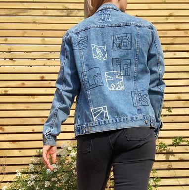 Story Board Denim Jacket