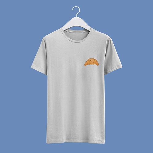 Happy Croissant - Small Badge Design