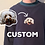 Thumbnail: Custom Hand Embroidered Pet Sweatshirt