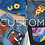 Thumbnail: CUSTOM Hand Painted Jeans