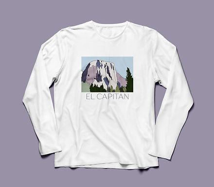 El Capitan Graphic T-shirt Long Sleeve V2