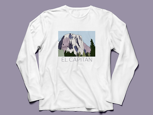 El Capitan Graphic T-shirt Long Sleeve V2