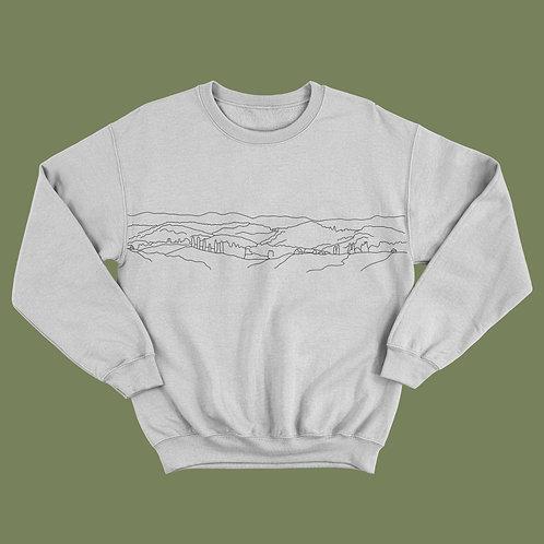 Countryside Landscape Sweatshirt/Jumper