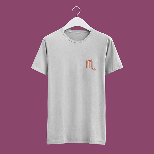 Scorpio Retro Star Sign T-shirt - Small Badge